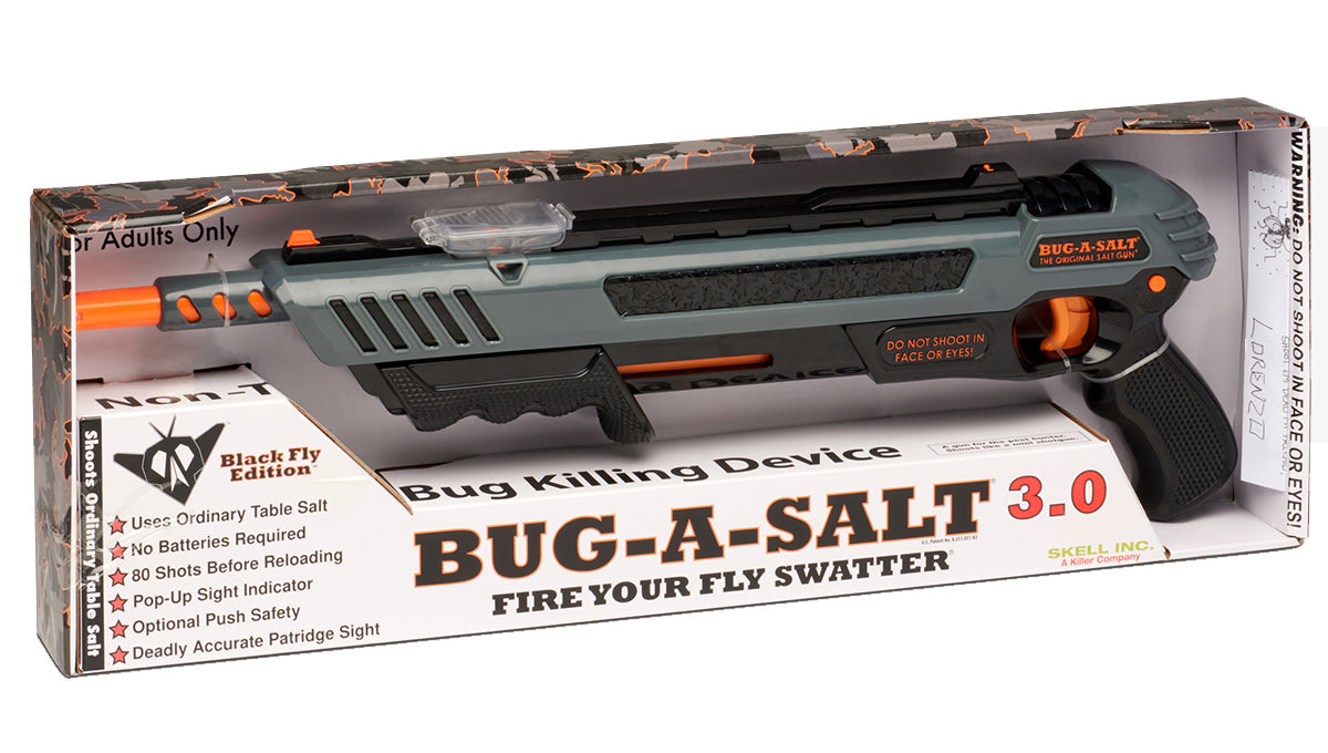 BUG-A-SALT 3.0 BLACK FLY EDITION