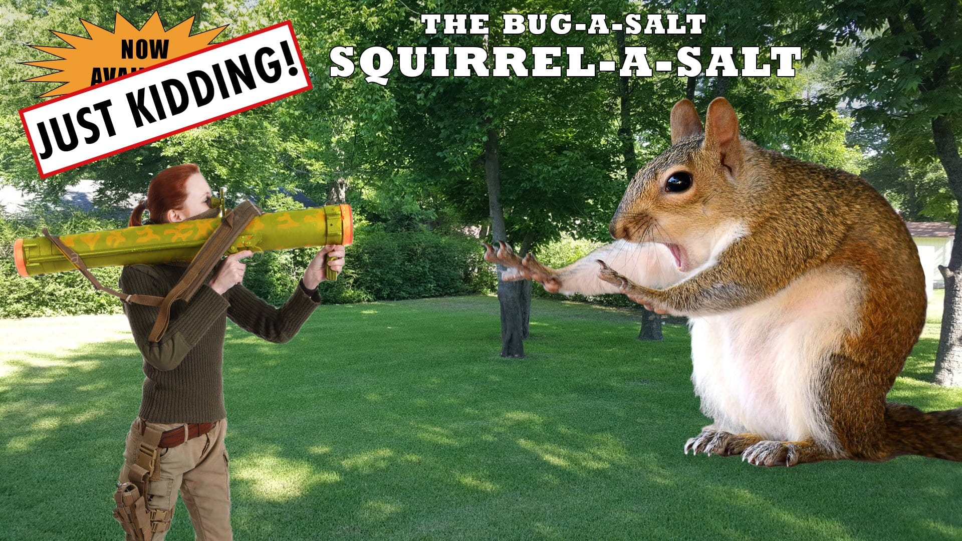 Squirrel-A-Salt