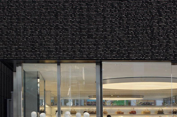 Toujurin facade for Marc Jacobs Tokyo - Raven - Europe's Japanese Tile Specialist
