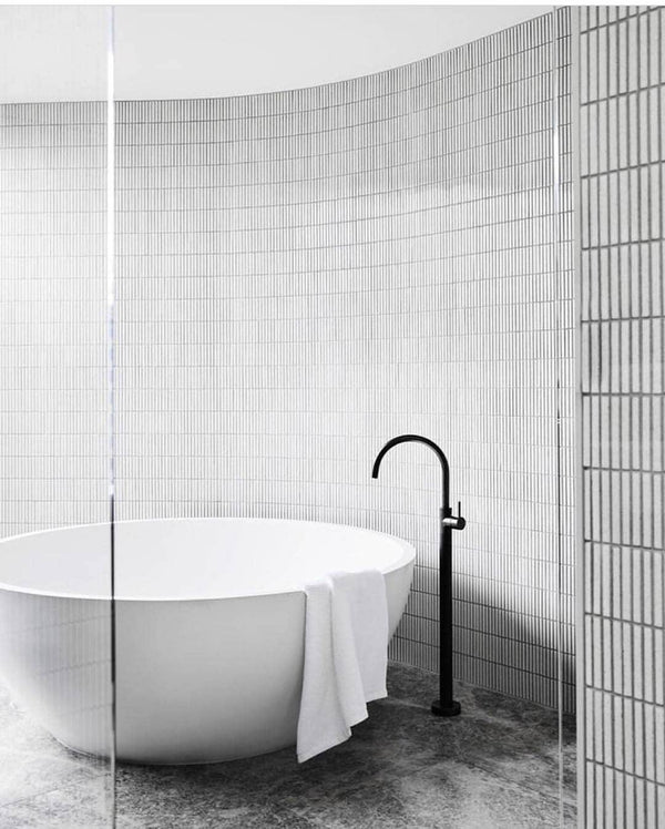 Curved Walls - Raven - Europe's Japanese Tile Specialist