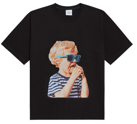 ADLV BABY FACE SHORT SLEEVE T-SHIRT BLACK SUNGLASSES