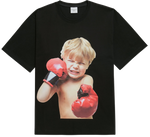 ADLV BABY FACE SHORT SLEEVE T-SHIRT BLACK BOXING