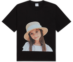 ADLV BABY FACE SHORT SLEEVE T-SHIRT BLACK FEDORA