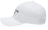 ADLV BASIC BASEBALL CAP WHITE