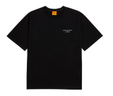 KAKAO X ADLV SIGNATURE LOGO RYAN SHORT SLEEVE T-SHIRT BLACK