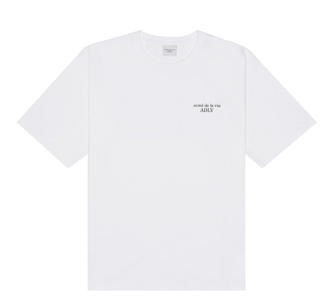 ADLV BASIC SHORT SLEEVE 2 WHITE