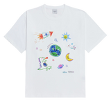 CRAYON LOGO SHORT SLEEVE T-SHIRT WHITE