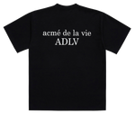 ADLV BABY FACE SHORT SLEEVE T-SHIRT BLACK DONUT 7