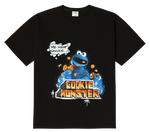 SESAME STREET X ADLV GRAFFITI COOKIE MONSTER SHORT SLEEVE
