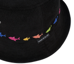 [PINKFONG BABY SHARK X ADLV] FAMILY BUCKET HAT BLACK