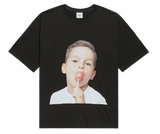 ADLV BABY FACE SHORT SLEEVE T-SHIRT BLACK CANDY