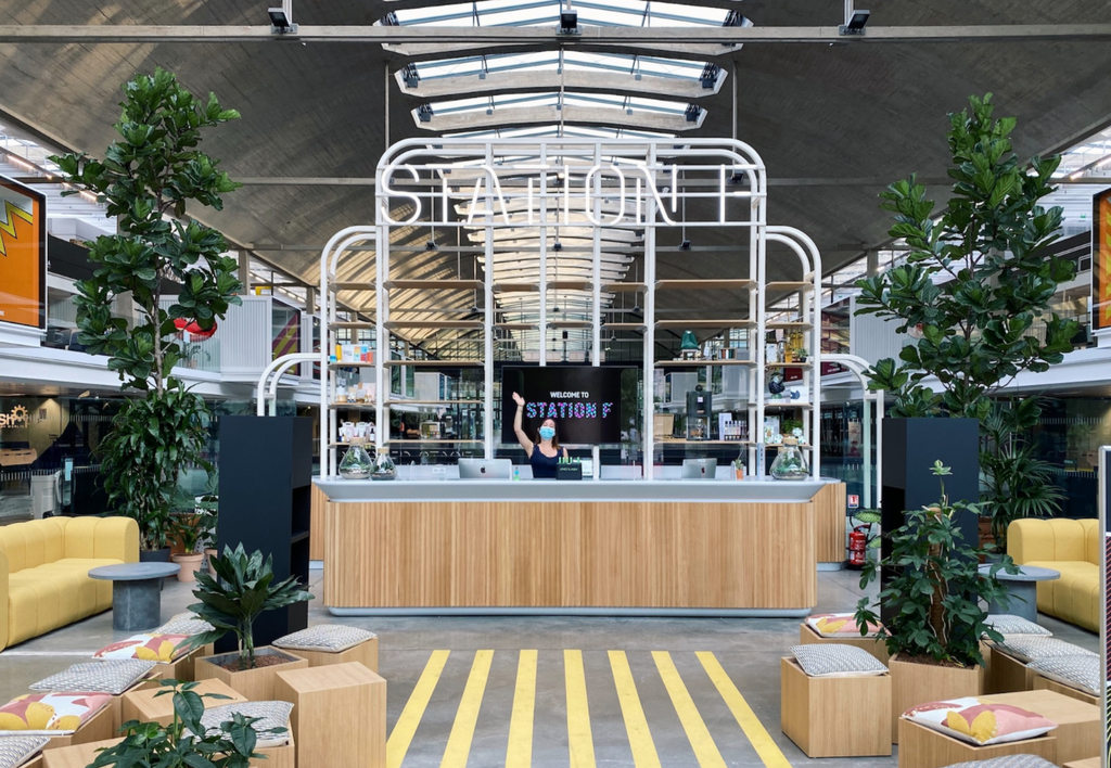 "STATION F : ""Introducing the Beta Bar"""