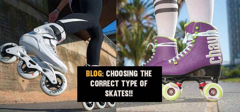 Choose the correct Inline Skates
