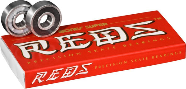 e889de58e7638 Bones® Super REDS® are designed from the ground up to be the best bearing  on the market at this price point. Super REDS® are not just a REDS® bearing  with ...