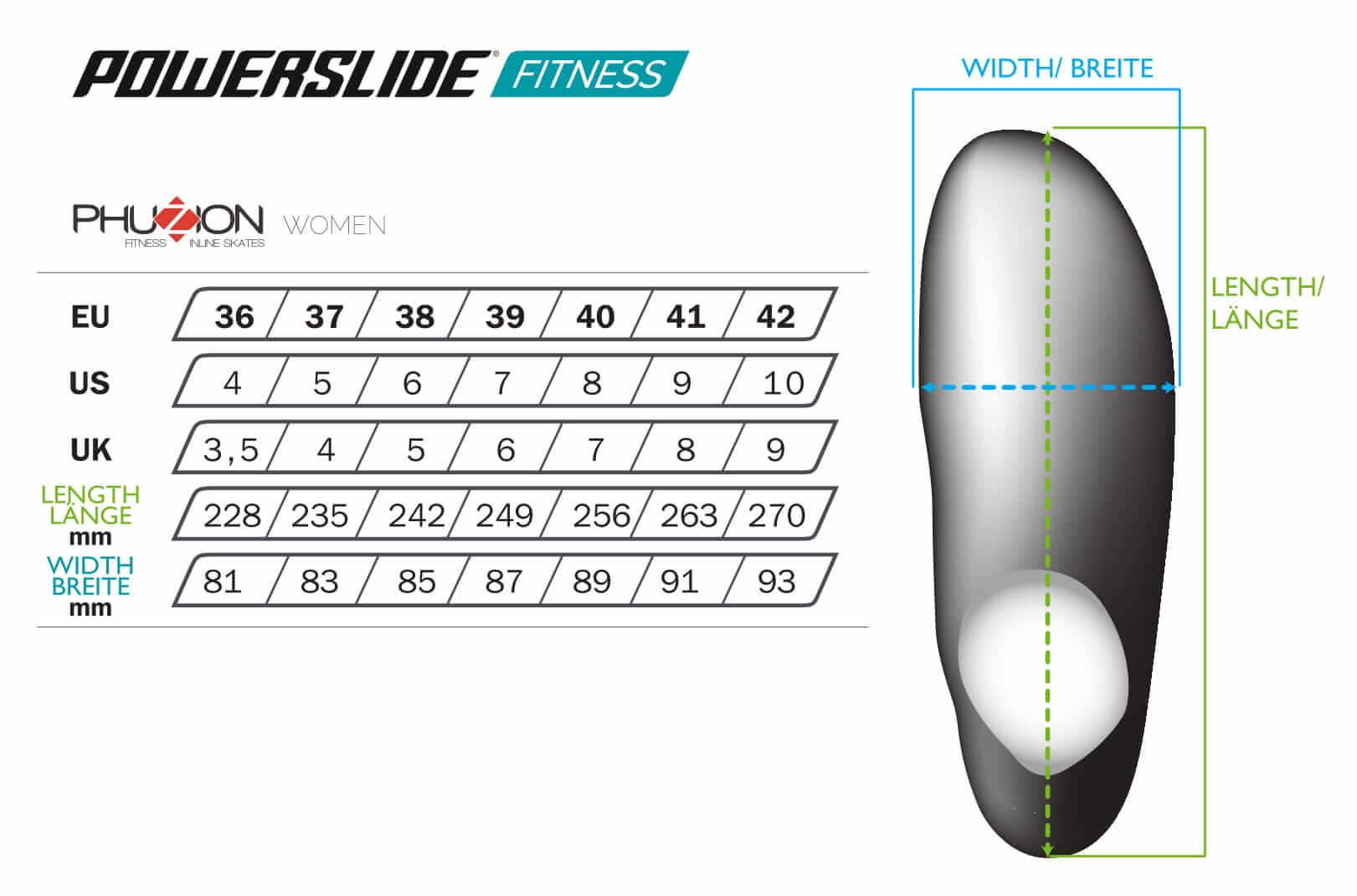 Powerslide Fitness Woman Skates