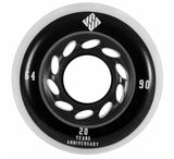 USD 64mm/90a Aggressive Wheels