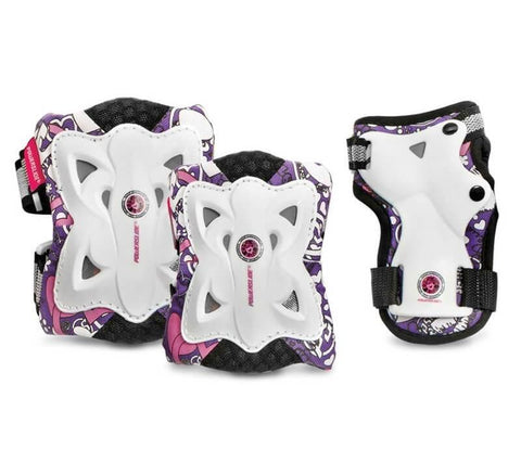 Powerslide Pro Butterfly Girls 3 Pack Gear Set