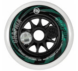 Powerslide Graphix 125mm White Wheels