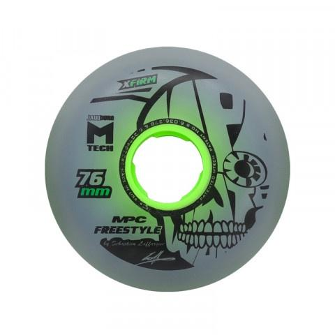 MPC freestyle Dual Natural 80mm Wheels X-Firm