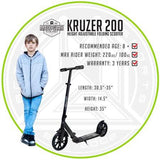 Madd Gear Kruzer 200 Adult Scooter