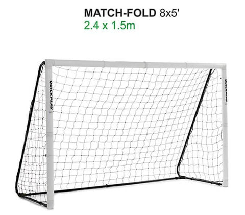 Quick Play Folding Match Goal 8′ x 5′ Goal Post