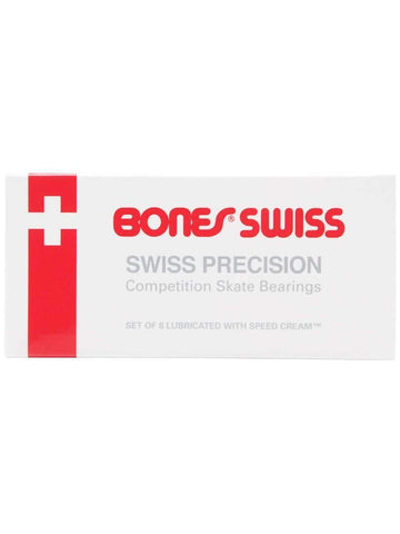 Bones Swiss Skate Bearings - Inlinex