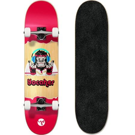 "Yocaher Chimp Series 7.5"" Complete Skateboard"