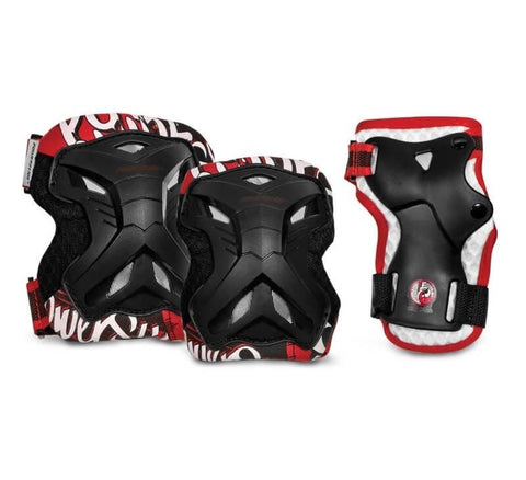 Powerslide Pro Robot Boys 3 Pack  Gear Set