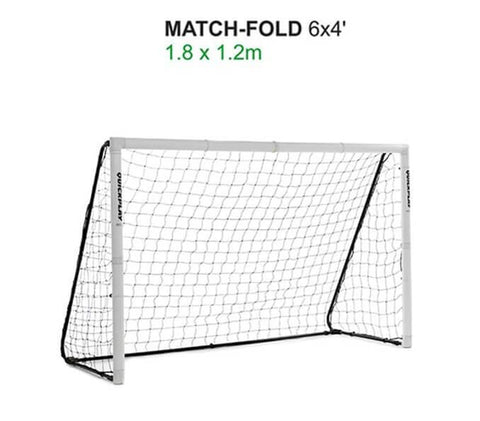 Quick Play Folding Match Goal 6′ x 4′ Goal Post