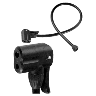 RavX Spare Dual Valve Head with Hose for Floor Pumps