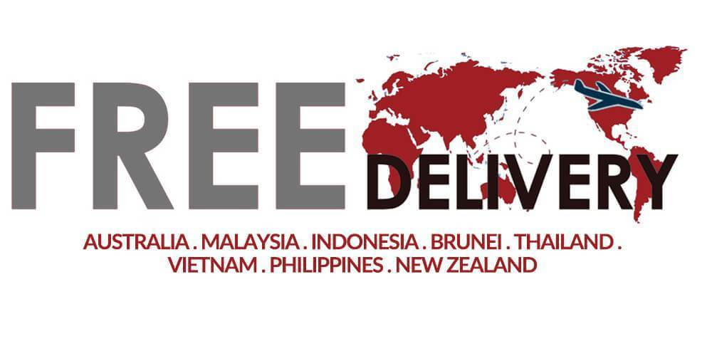 Free Asia Shipping