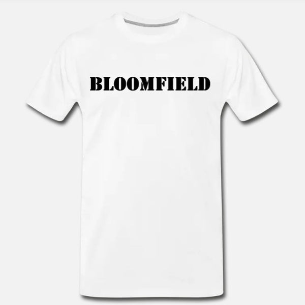 Bloomfield Tee - White/Black