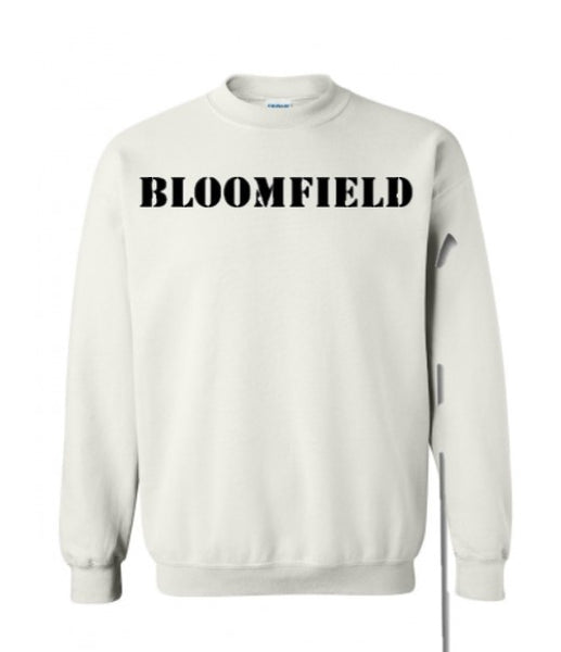 Bloomfield Crew - White/Black