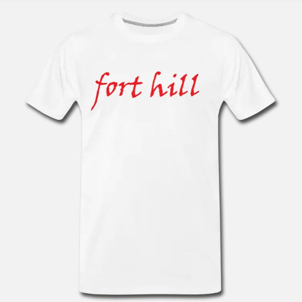 Fort Hill Tee - White/Red