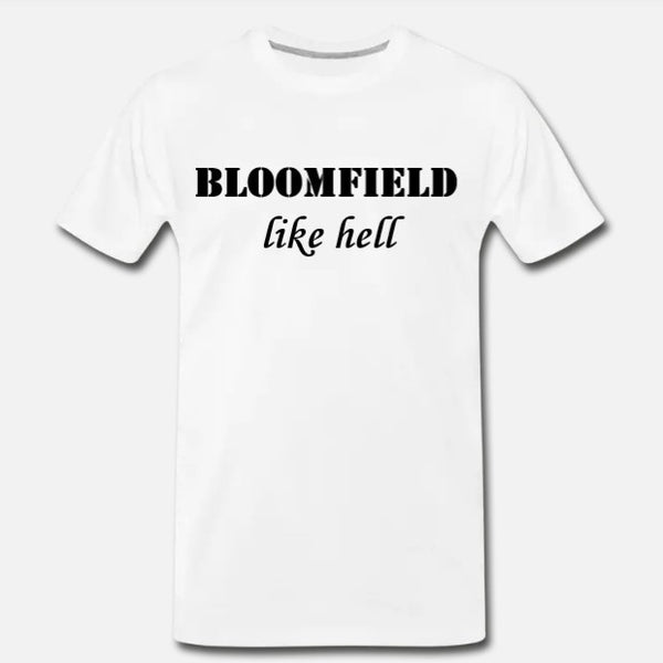 Like Hell Tee - White/Black