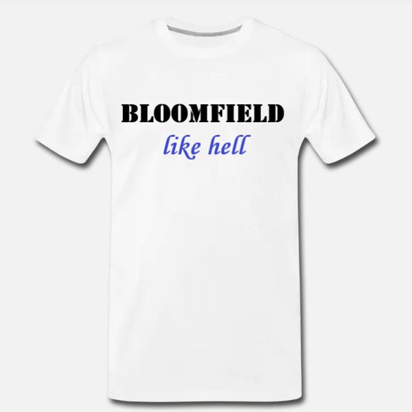 Like Hell Tee - White/Blue