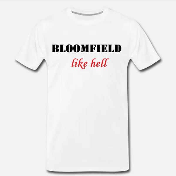 Like Hell Tee - White/Red
