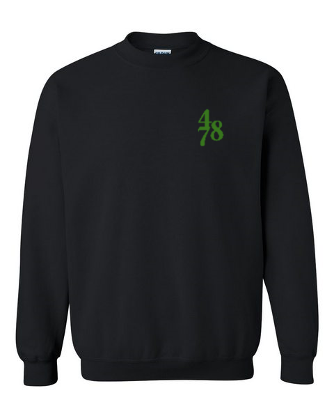 Chest Piece Crew - Black/Green