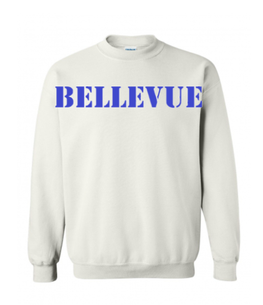 Bellevue Crew - White/Blue