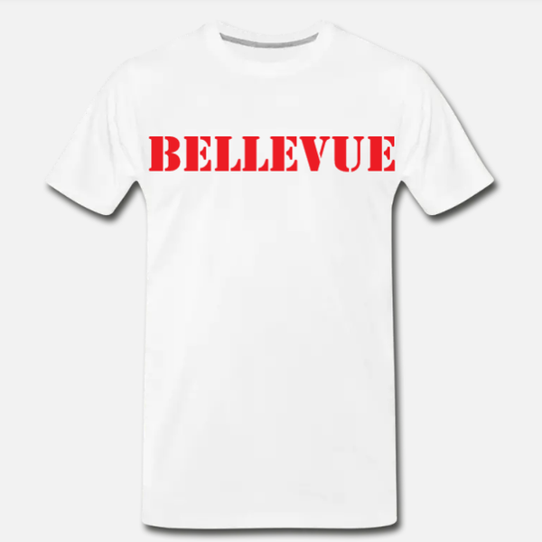 Bellevue Tee - White/Red