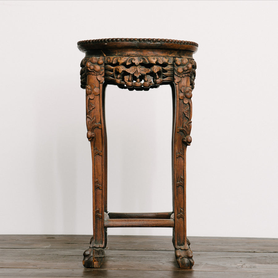 19th Century Carved Chinese Table