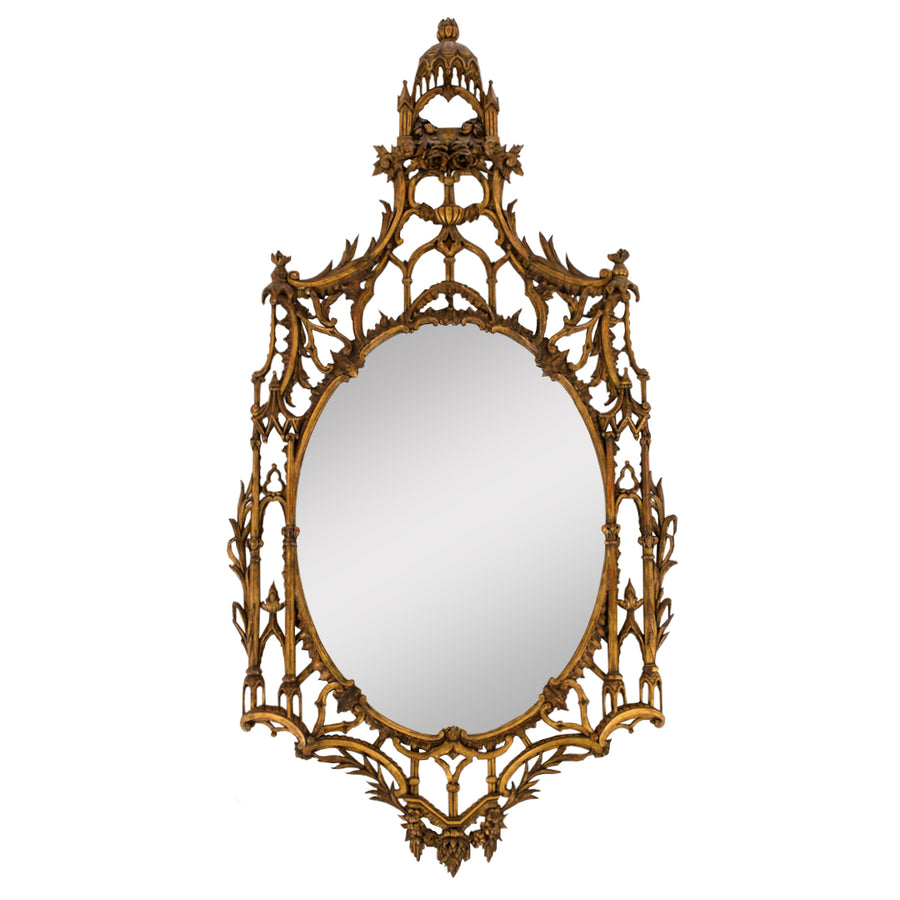 19th Century Giltwood Chippendale Mirror