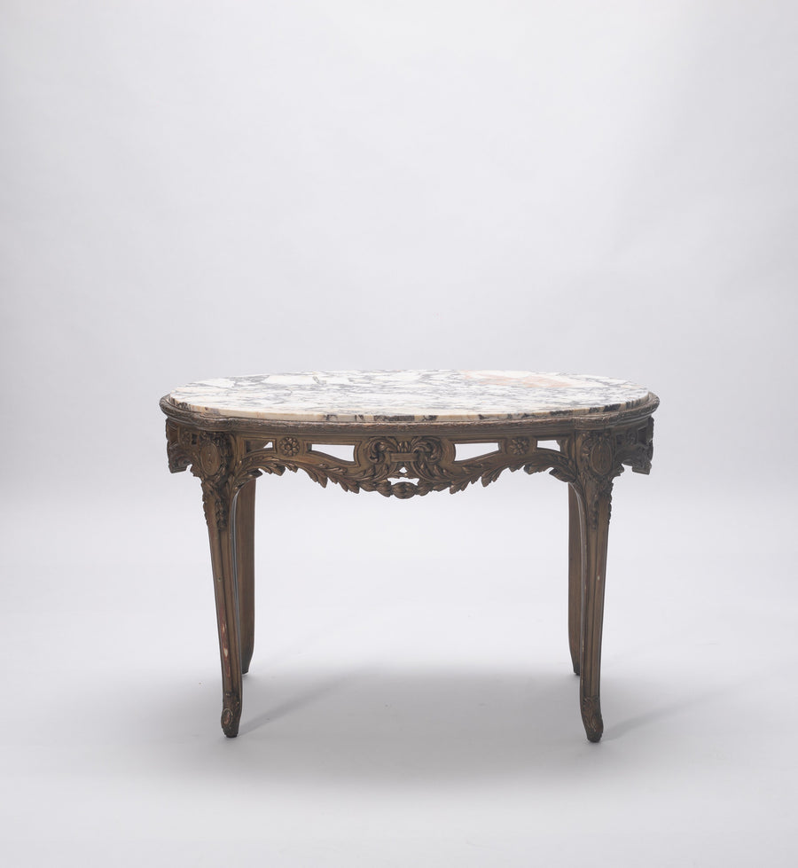 19TH CENTURY FRENCH LOUIS XV STYLE CENTER TABLE