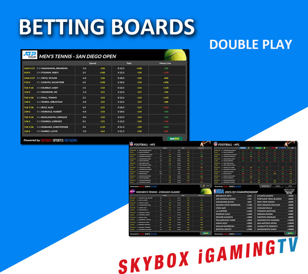 DOUBLE PLAY BETTING BOARD
