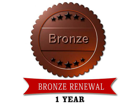 BRONZE RENEWAL ONE YEAR