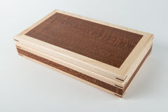 Lacewood on Maple with Redwood Corners (Large)