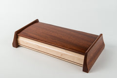 Maple with Walnut Inlay and Mahogany Sides (Large)