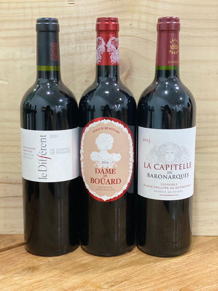 La Différence: Women Winemakers (Buy all 3 to get 10% Off, $186)