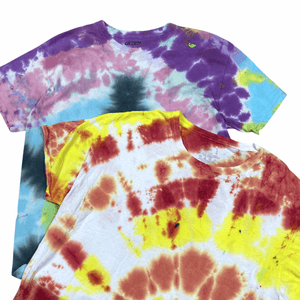 Tie Dye T-Shirts Northern Pole Vintage Wholesale