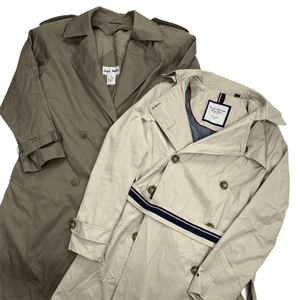 Trench Coats Mix Northern Pole Vintage Wholesale